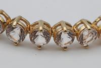 Galileia morganite bracelet in yellow gold (3 of 3)
