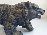 Large Detailed Vintage Bronze Grizzly Bear c1940s (5 of 10)