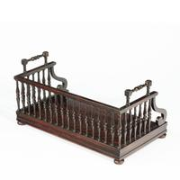 Regency rosewood book tray attributed to Gillows (6 of 7)