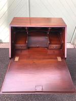 Slim Burr Walnut Writing Bureau (6 of 10)