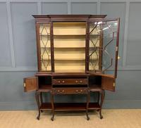 Carved Mahogany Display Cabinet by Warings (12 of 19)