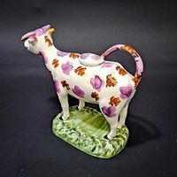 Swansea Cambrian Pottery Cow Creamer (4 of 7)