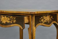 Fine Marquetry Inlaid Writing Table (6 of 6)