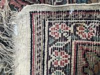 Antique Mughal Kashmir Wool Carpet (6 of 8)