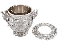 Antique George III Sterling Silver Wine Cooler (8 of 18)