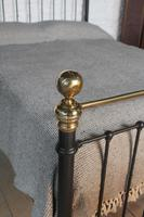Classic Victorian English King Size Bedstead (3 of 7)
