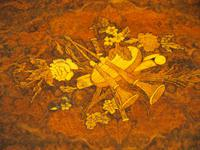 Pair of Victorian Marquetry Burr Walnut Etageres (2 of 12)