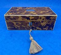 Georgian Tortoiseshell Jewellery Box (3 of 16)