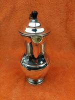 Vintage Silver Plate Coffee Pot Garrard & Co Ltd (4 of 9)