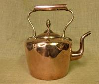 Traditional 5 Pint Antique Copper Kettle (3 of 5)