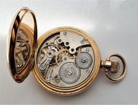 1930s Cyma Full Hunter Pocket Watch (6 of 6)