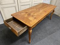 French Fruitwood Farmhouse Dining Table (4 of 15)