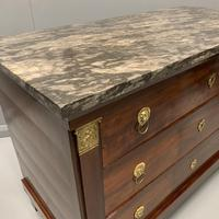 French Empire Commode with Gilt Lions Paw Feet (5 of 10)