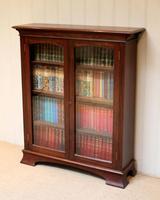 Edwardian Mahogany Glazed Bookcase c.1910 (5 of 11)
