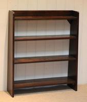 Solid Oak Graduated Bookshelves (10 of 10)