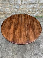 English Regency Rosewood Round Centre Table (2 of 7)