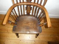 Early 19th Century Yew Windsor Chair (8 of 8)