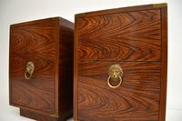 Pair of Military Campaign Style Rosewood Side Chests (4 of 10)