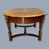 French Walnut and Marquetry Coffee Table (5 of 5)