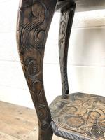 Early 20th Century Carved Side Table (8 of 9)
