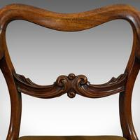 Antique Scroll Armchair, English, Mahogany, Buckle Back, Seat, William IV, 1835 (10 of 11)