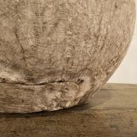 Large 18th Century Swedish Carved Wooden Burl Root - Knot Bowl (7 of 14)