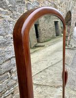 Victorian Floorstanding Mahogany Cheval Mirror (8 of 16)