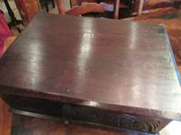 Early Period Antique Oak Deed Box c.1700 (6 of 7)