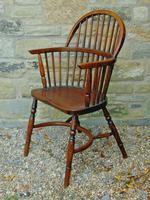 Antique Oak Windsor Chair (7 of 8)