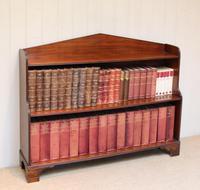 Edwardian Open Mahogany Bookcase c.1910 (5 of 12)