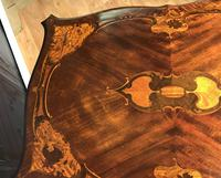 Quality Inlaid Walnut Occasional Table (17 of 18)