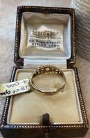 18ct. Yellow Gold Opal & Diamond 5 Stone Ring.1919 (5 of 6)