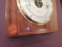 Superb Art Nouveau Antique Inlaid Barometer (3 of 7)