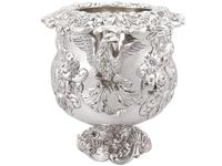 Antique George III Sterling Silver Wine Cooler (5 of 18)