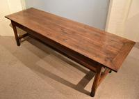 19th Century French Cherry Wood Farmhouse Table (7 of 8)
