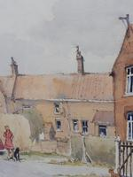 Watercolour Country Village Exhibited Artist Tony Hunter (6 of 10)