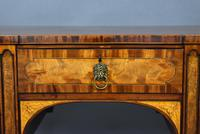 George III Mahogany & Satinwood Sideboard (2 of 20)
