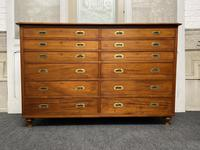 Very Rare Double Military Chest of Drawers (2 of 21)