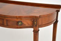 Antique Georgian Style Mahogany Console Table (6 of 8)