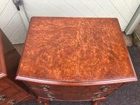 Pair of Antique Burr Walnut Bedside Chests (5 of 9)