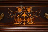 Antique Victorian Inlaid Mahogany Wardrobe by James Shoolbred (7 of 17)