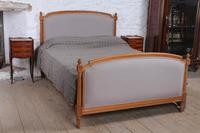 Newly Upholstered French Empires Style King Size Bed
