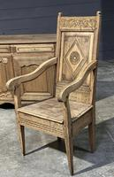 18th Century French Wainscot Armchair (3 of 5)