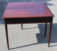 1850's Victorian Mahogany Side Table (2 of 4)