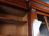 Antique George IV Mahogany Breakfront Library Bookcase (5 of 14)