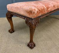 Chippendale Style Long Stool / Bench (7 of 10)