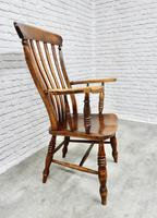 Large 'Grandfather' Windsor Lathback Armchair (4 of 6)