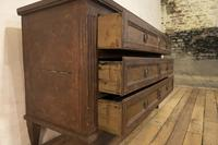 Louis XVI Period Original Painted Commode - Chest of Drawers (12 of 14)