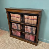 Quality Arts & Crafts Victorian Oak Large Open Bookcase (6 of 6)