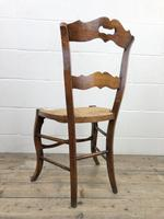 Set of Four Antique French Fruitwood Dining Chairs (8 of 9)